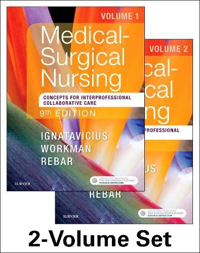 Medical-surgical Nursing: Concepts for Interprofessional Collaborative Care  2017 9780323461580 Front Cover