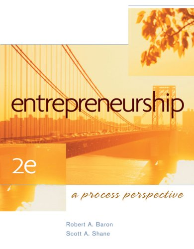 Entrepreneurship A Process Perspective 2nd 2008 edition cover