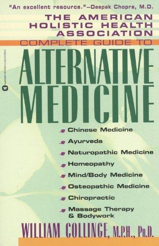 American Holistic Health Association Complete Guide to Alternative Medicine   1998 edition cover
