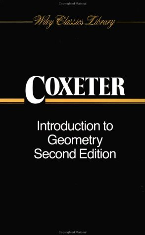Introduction to Geometry  2nd 1989 (Revised) edition cover
