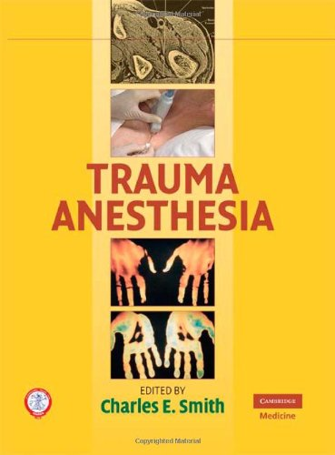 Trauma Anesthesia   2008 9780521870580 Front Cover