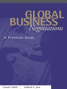 Global Business Negotiations A Practical Guide  2004 edition cover