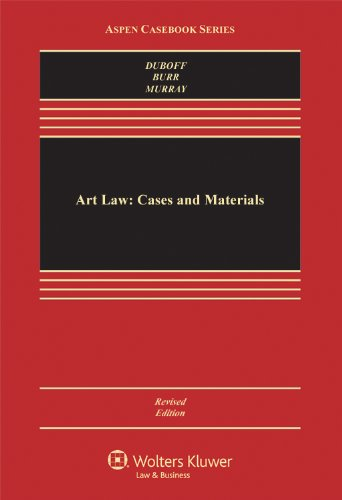Art Law Cases and Materials 7th 2010 (Student Manual, Study Guide, etc.) edition cover