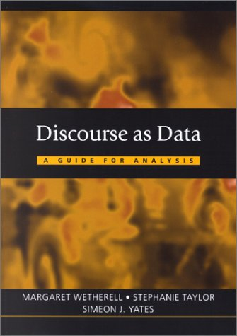 Discourse as Data A Guide for Analysis  2001 edition cover