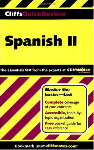 CliffsQuickReview Spanish II   2003 edition cover