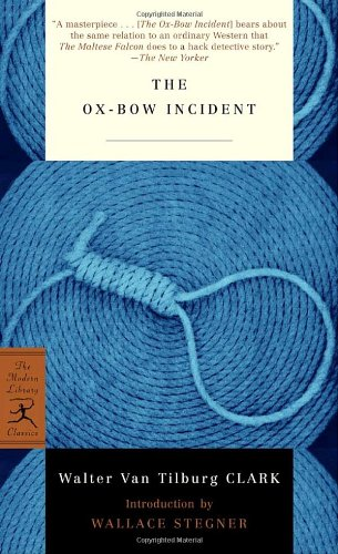 Ox-Bow Incident   1965 edition cover