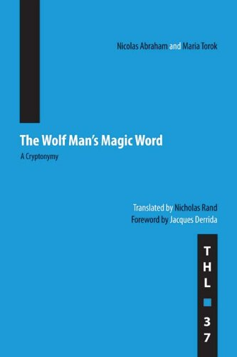 Wolf Man's Magic Word A Cryptonymy  2006 edition cover