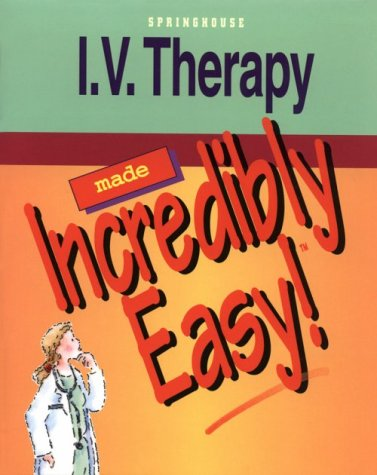 I. V. Therapy 1st edition cover