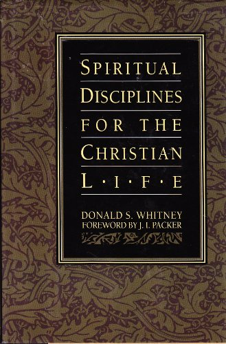 Spiritual Disciplines for the Christian Life Study Guide N/A edition cover