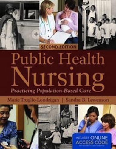 Public Health Nursing  2nd 2013 edition cover