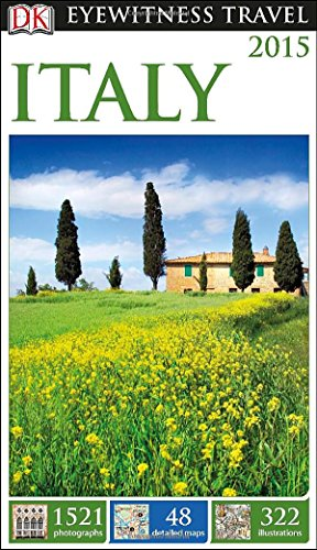 Eyewitness Travel Guide - Italy 2015  N/A 9781465410580 Front Cover
