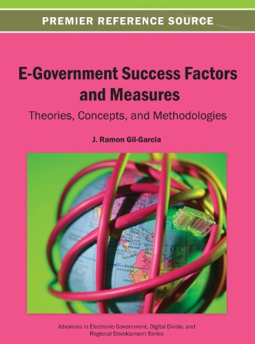 E-Government Success Factors and Measure: Theories, Concepts, and Methodologies  2013 edition cover