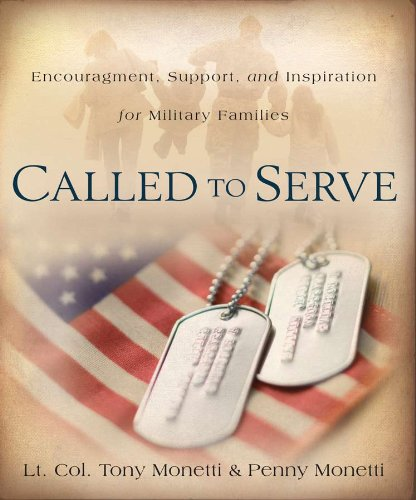 Called to Serve Encouragement, Support, and Inspiration for Military Families  2011 edition cover