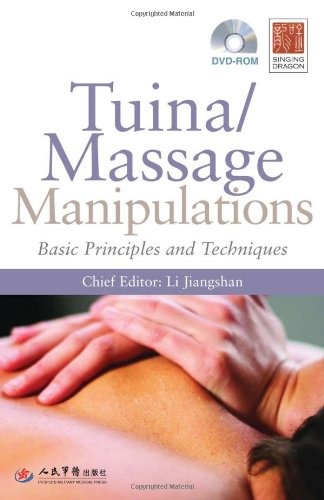 Tuina/ Massage Manipulations Basic Principles and Techniques  2011 edition cover