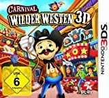 Carnival: Wilder Westen 3D Nintendo 3DS artwork