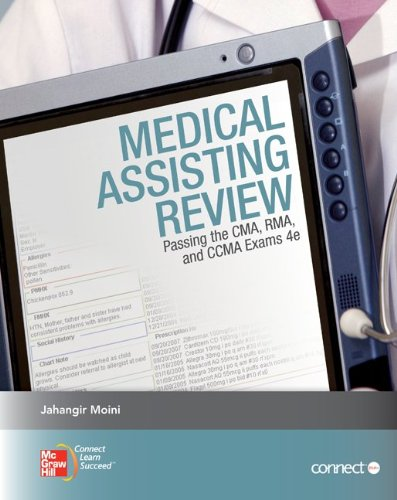Medical Assisting Review: Passing the CMA, RMA, and CCMA Exams  4th 2012 edition cover