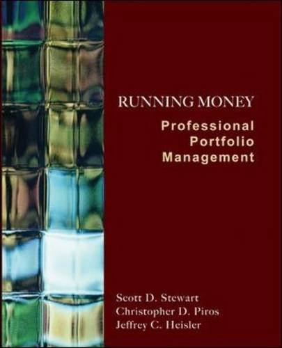 Running Money Professional Portfolio Management  2011 edition cover