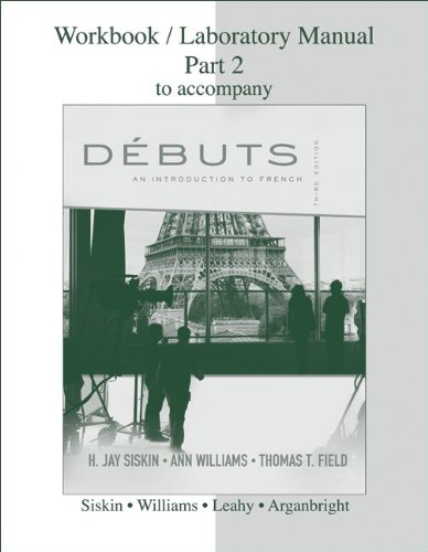 Debuts An Introduction to French 3rd 2010 edition cover