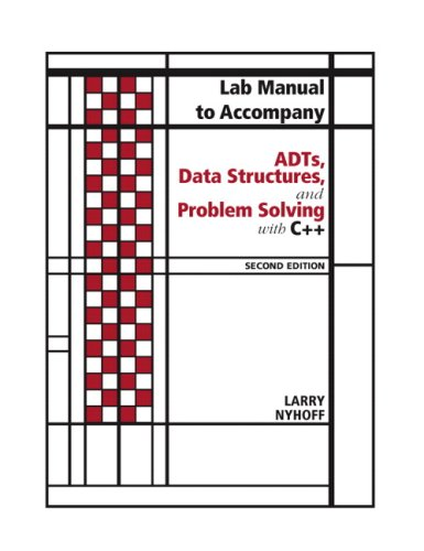 ADTs, Data Structures, and Problem Solving with C++  2nd 2005 (Revised) edition cover