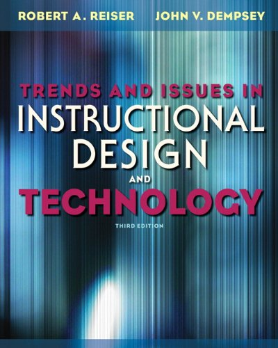 Trends and Issues in Instructional Design and Technology  3rd 2012 edition cover