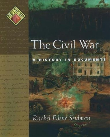 Civil War A History in Documents  2001 edition cover