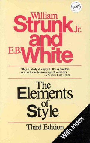 Elements of Style  3rd edition cover