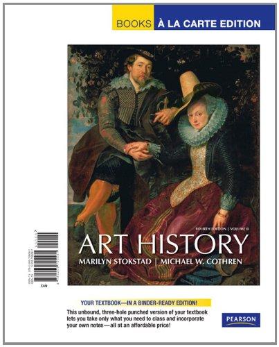 Art History, Volume 2, Books a la Carte Edition  4th 2011 edition cover