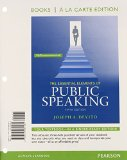 Essential Elements of Public Speaking, Books a la Carte Edition  5th 2015 edition cover