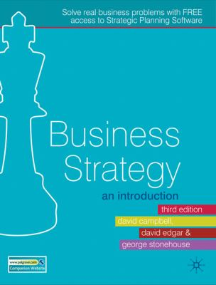 Business Strategy An Introduction 3rd 2011 9780230218581 Front Cover