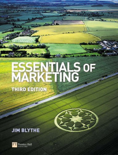 Essentials of Marketing  3rd 2005 (Revised) 9780273693581 Front Cover