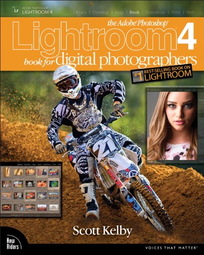 Adobe Photoshop Lightroom 4 Book for Digital Photographers   2012 (Revised) edition cover
