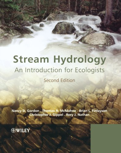 Stream Hydrology An Introduction for Ecologists 2nd 2004 (Revised) edition cover