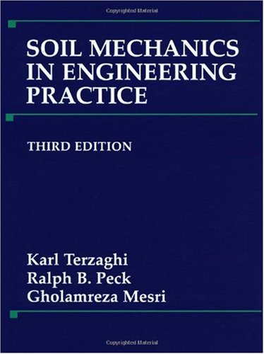 Soil Mechanics in Engineering Practice  3rd 1996 (Revised) edition cover
