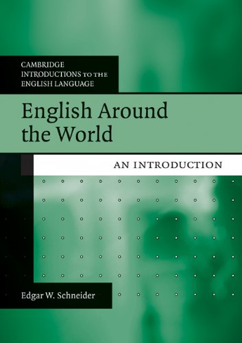 English Around the World An Introduction  2010 edition cover