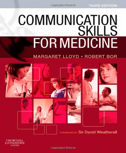 Communication Skills for Medicine  3rd 2009 edition cover