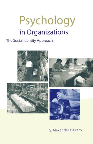 Psychology in Organizations The Social-Identity Approach  2000 9780761961581 Front Cover