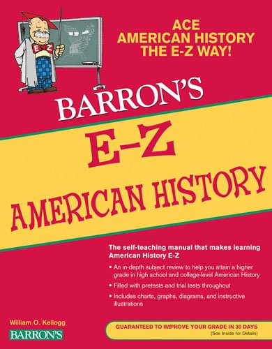 E-Z American History  4th 2009 (Revised) edition cover