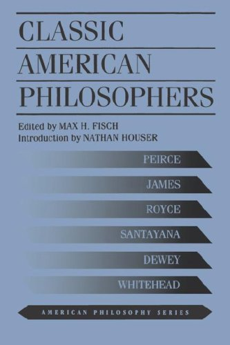 Classic American Philosophers   1995 (Reprint) edition cover