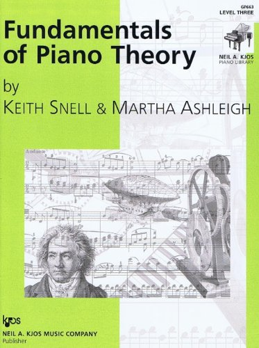 FUND.OF PIANO THEORY:LEVEL 3 N/A edition cover