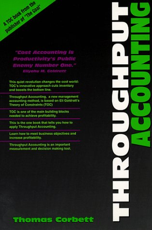 Throughput Accounting 1st edition cover