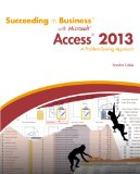 Succeeding in Business with Microsoft� Access 2013   2015 edition cover