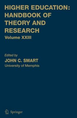 Higher Education Handbook of Theory and Research  2008 9781402069581 Front Cover