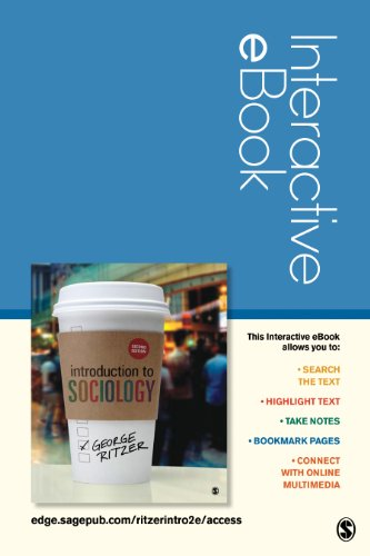 Introduction to Sociology Interactive EBook  2nd edition cover
