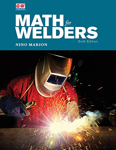 Math for Welders  6th (Revised) 9781635636581 Front Cover