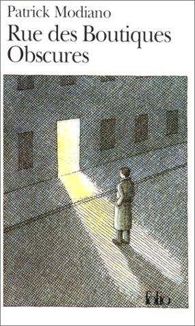 Rue des Boutiques Obscures   1978 edition cover
