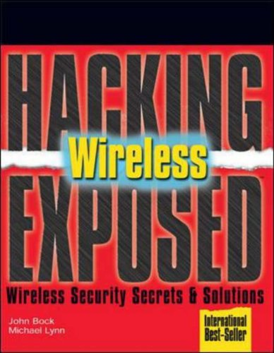 Wireless Wireless Security Secrets and Solutions  2007 edition cover