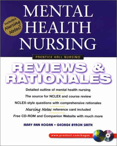 Mental Health Nursing Reviews and Rationales  2003 edition cover