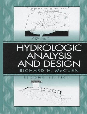 Hydrologic Analysis and Design  2nd 1998 edition cover