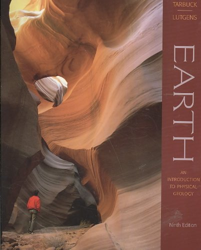 Earth - an Introduction to Physical Geology: 9th 2008 edition cover
