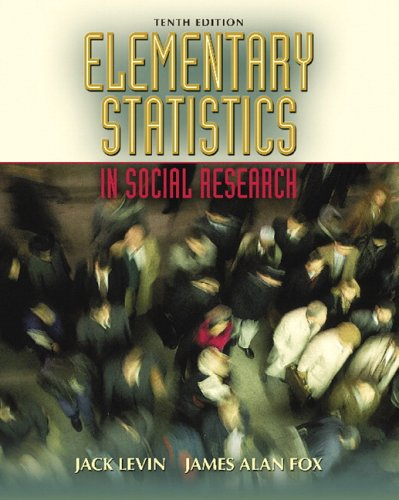 Elementary Statistics in Social Research  10th 2006 (Revised) edition cover